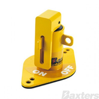 Battery Isolator Lockout Yellow Suits 0341003004, 500009, SW-1106
