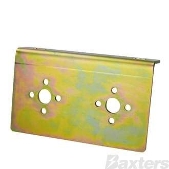 Mounting Bracket For Dual 75910 Isolators Battery And Starter