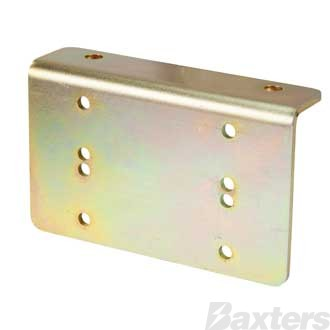 Baxters Right Angle Bracket to suit Dual Anderson SB50 Connector