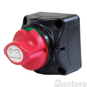 Switch Battery Master Mini 12-48V 200A Cont / 300Amp Int