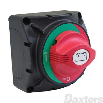 Switch Battery Master 600A Cont 2500A Int