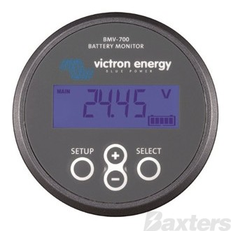 Victron Battery Monitor 6.5 - 90Vdc Grey