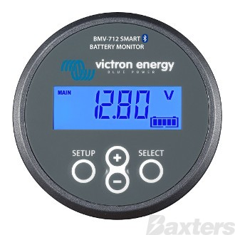 Victron Battery Monitor Smart Type w/ Bluetooth. Monitors two batteries.