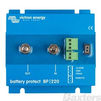 Battery Protect Victron 12/24V 65A Adjustable Trigger Voltage Set Point.