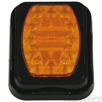 10-30V 20 LED Indicator IP67106 X 134mm Surface Mount