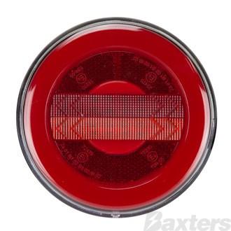10-30V Stop/Tail/Indicator/Ref 122mm Diameter Surface Mount Glow Tail Lamp