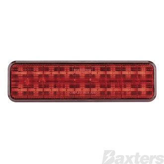 LED Stop/Tail Lamp BR135 Series 10-30V 18 LED 135 x 38 x 20mm Surface Mount