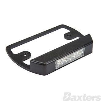 12V Licence Plate Lamp and Bracket for BR207 Series Combination Lamps