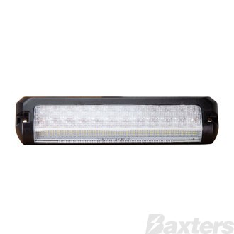 LED Combination Lamp 10-30V Stop/Tail/Ind/Rev/Strobe 210x50x20mm Sequential Indicator Strobe Work Light
