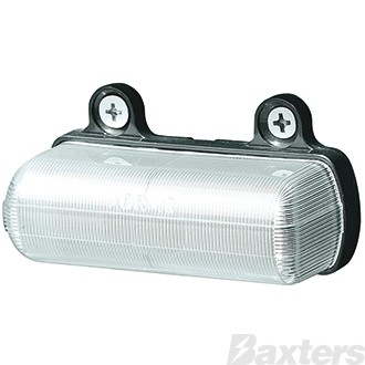 10-30V 6 LED Rect 81 x 41mm Top Mount Opaque Blister Packed