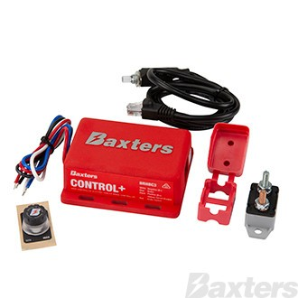 Baxters Control+ User Controlled Remote Head Electric Trailer Brake Controller 12V 1-2 Axles, Third Generation 5 Year Warranty