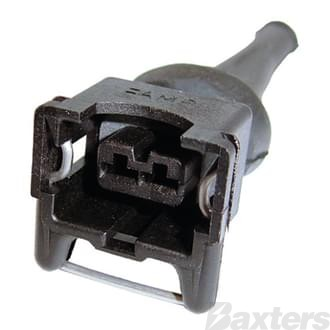 Plug Bosch Type Regulator / Injector 2 Pin (ea) RE60 Reg Plug