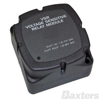 Fully Automatic 140Amp Voltage Sensing Battery isolator 12/24 Volt Dual Sensing