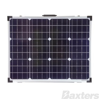 Solar Panel Monocrystalline 12V 110W Foldable Includes 10A PWM Charge Controller