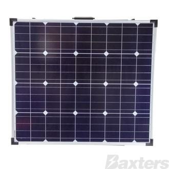Solar Panel Monocrystalline 12V 160W Foldable Includes 10A PWM Charge Controller