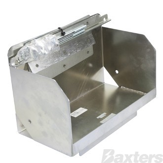 Battery Box Multi Fit Tub Mount C/W Hardware to Suit Suits Mazda BT-50 SR5 2011 - ON