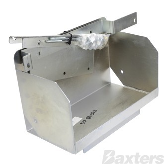 Battery Box Multi Fit Tub Mount C/W Hardware to Suit Suits Toyota Hilux SR5 2005 - ON