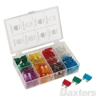 Fuse Kit Wedge 96 Pcs 8 Amperage Values
