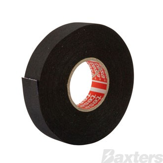 Tesa PET Cloth Wire Harness Tape, High Abrasion Protection, Heat Resistant to 150C/3000h