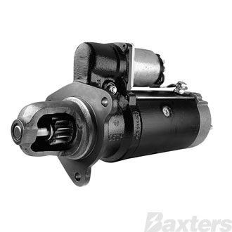 Starter Bosch 6.7kW 24V 11T 41mm CW Suits Scania Truck K124, P124, R124, 12.01, 12.02