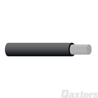 Marine Cable 3 B&S 30M Black