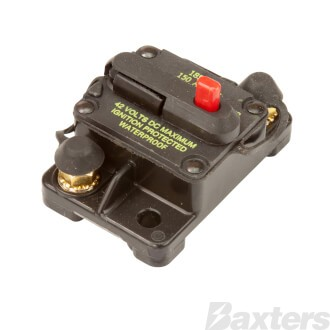 Circuit Breaker Hi Amp Thermal 150A 42VDC Type III Manual Reset
