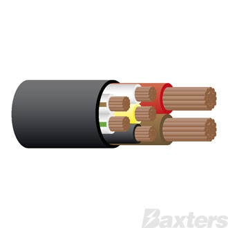 EBS Cable 7-Core 30m Length 5 x1.5mm & 2 x 4mm