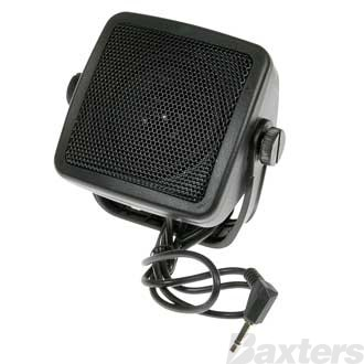 Aerpro UHF CB Radio Extension Speaker 15 Watt  1.8 Metre Cable 3.5mm Plug 100 x 82 x 59mm