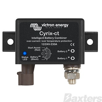 Victron Cyrix Intelligent Battery Combiner 12/24V 230A with Over-current and Over Temperature Protection