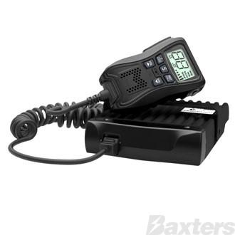 Crystal M 80 Channel 5 Watt Remote Speaker/Mic UHF CB Radio