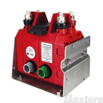 Battery Master Switch 12V 300A Double Positive DPDT Electronic Type Gen 2 Lock Out Included IP67 EX Rated ADR Approved