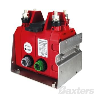 Switch DPS Battery Master 24V 300A DPST Electronic Type Gen 2 Lock Out Included IP67 EX Rated ADR Approved