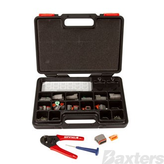 Deutsch Genuine DT Series Connector Kit 139 Pcs Including Crimping Tool And Refillable Trade Case