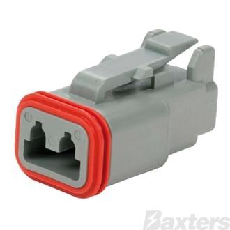 DT Series Connector Plug 2 circuit
