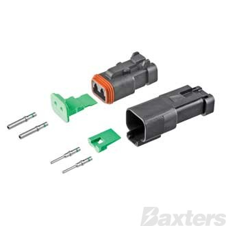 DT Series Connector 2 Circuit Complete Kit, CAT Specifications