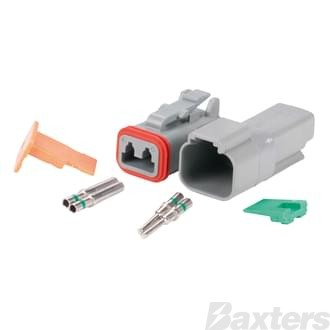 DT Series Connector 2 Circuit Complete Kit