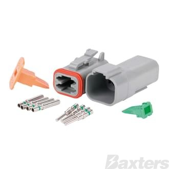 DT Series Connector (Complete Kit) 4 Circuit ** Can Use BDT-0003 **