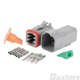 DT Series Connector (Complete Kit) 6 circuit
