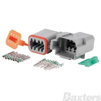 DT Series Connector (Complete Kit), 8 circuit