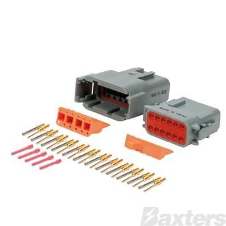 DTM Series Connectors (Miniature), 12 circuit