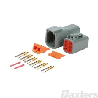 DTM Series Connectors (Miniature), 6 circuit