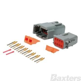 DTM Series Connectors (Miniature), 8 circuit
