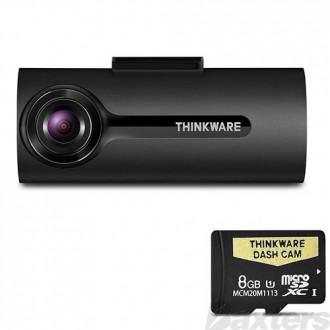 Thinkware Dash Cam 1080P Full HD 12/24 Volt 8GB SD Card