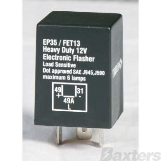 Flasher Can Tridon 12V 3 Pin Load Sensitive