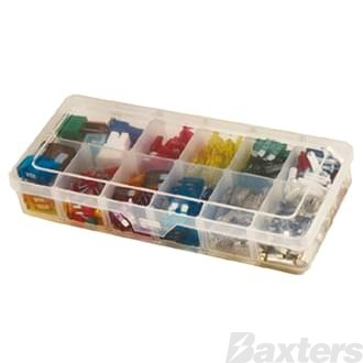 Fuse Kit 322 Piece (Mini Wedge, Wedge, Large Wedge, Ceramic and Glass Fuses)
