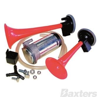 HORN KIT 24V COMPACT TWIN AIR