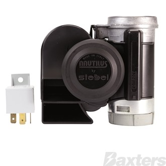 Nautilus Compact Air Horn Set 24V Twin Tone High & Low