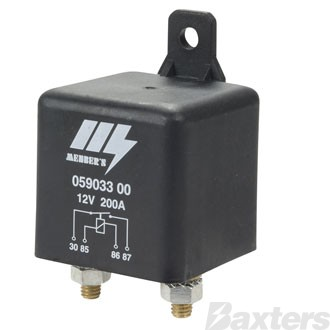 Relay Power Menbers 12V 200A Normally Open