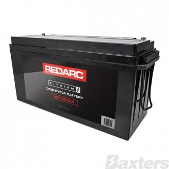 12V 200AH Lithium Deep Cycle Battery Redarc