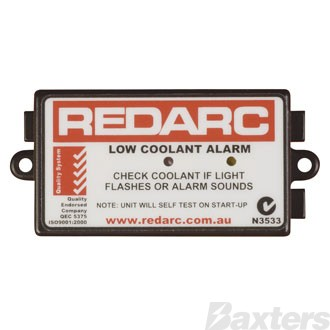 Low Water Alarm 12-24V